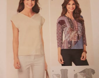 Burda 6579, Women's Top Sewing Pattern