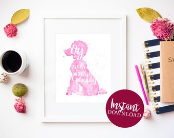 Oy with the Poodles Already Printable Download