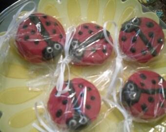 One Dozen Ladybug Oreos
