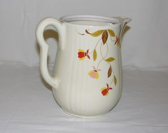 Hall's Superior Quality Kithcenware Autum Leaf Pitcher
