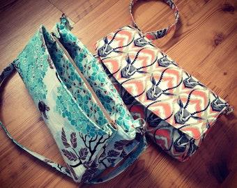 Glenda Convertible Clutch Wallet Small Purse Pdf Pattern by Swoon Patterns