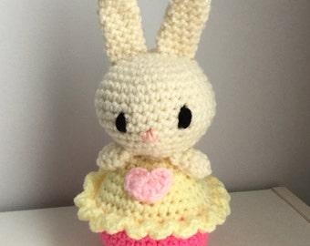 Amigurumi Bunny Pencil Holder : Cute bunny plush etsy