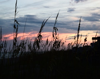 Sunset on Emerald Isle, NC
