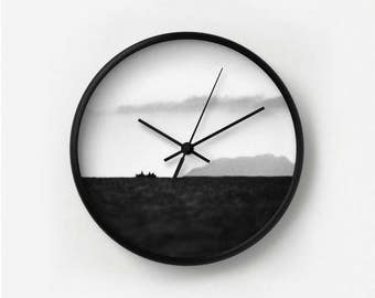 Neither Here Nor There Photography Wall Clock