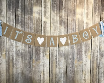 It's A Boy Banner, Baby Shower Boy Banner, Baby Boy Banner, Baby Shower decoration