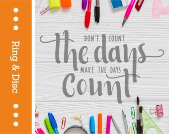 QU05-RD Don't Count The Days