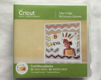 Cricut Cartridge - Edge to Edge- Gently Used