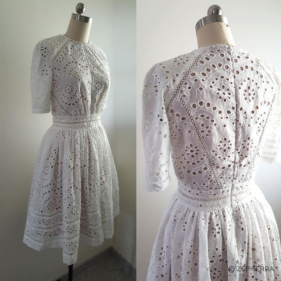 Kate Middleton/ White Broderie Anglaise dress/ Zimmerman