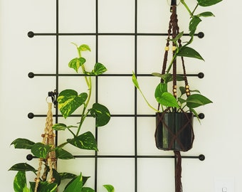 Macrame Pot Plant Hanger - Small