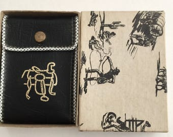 Very Sweet 1960's Boy's Cowboy Wallet