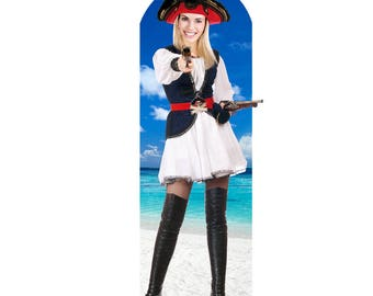 Pirate Wench Life-size Cardboard (Stand-in)