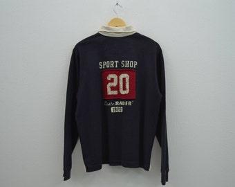 Eddie Bauer Shirt Eddie Bauer Casual Rugby Shirt Eddie Bauer Sport Shop Seattle No 20 Mens Size S/M