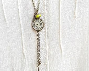 Long necklace retro charm