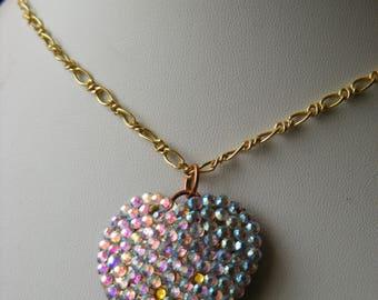 Necklace and Pendant - Rhinestone