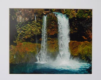 Nature Photography Matted 8x10 Falls