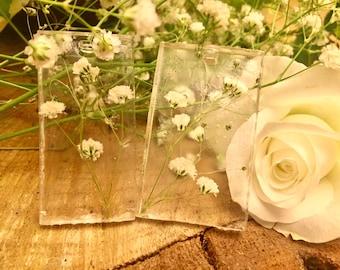 Real Flower Keyring