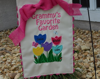 Grandma or Mom Garden Flag