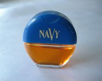 Vintage Navy Perfume by Dana Mini Cologne .1 oz 3 ml *MINIATURE