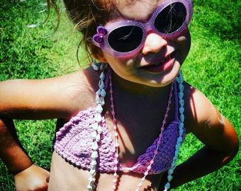 Little Girl Crocheted Bikini Top