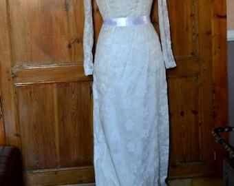 Vintage french wedding dress 60's / 70's