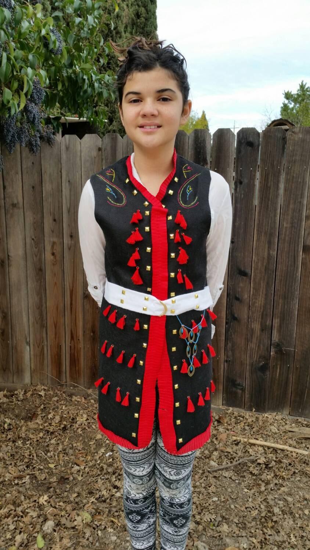 Traditional Polish Boys Costume Eastern European Folk
