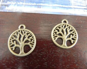 bronze tree of life 2 charms