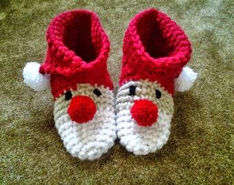 Woman's Santa Slippers