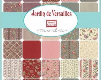 French General Jardin de Versailles for Moda Charm Pack