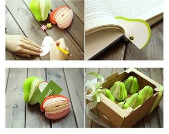 Post it/Notepad/Notepad Fruit/Bookmark Tab/Memo/3D Note pad