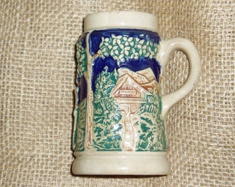 German Kinderkrug Miniature Stein, Beer Stein, Tankard