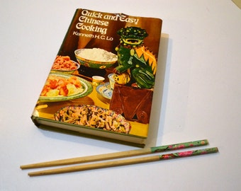 Vintage CookBook Quick and Easy Chinese Cooking Kenneth Lo