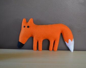 Felt fox friend