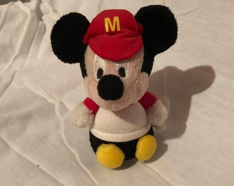 Vintage Wind-Up Mickey Mouse Toy Disney