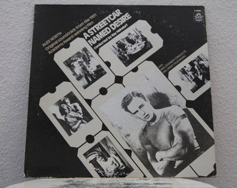 A Streetcar Named Desire Original Motion Picture Soundtrack vinyl record, Music by Ray Heindorf