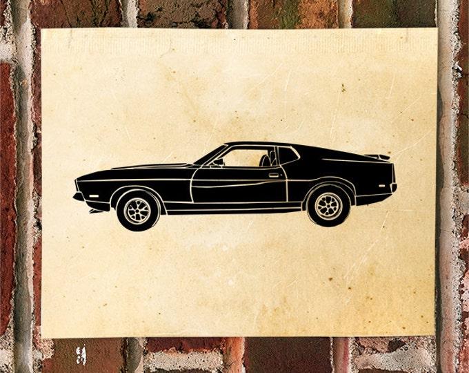 KillerBeeMoto: Limited Print Vintage Hot Rod Muscle Car Automotive Print Print 1 of 50