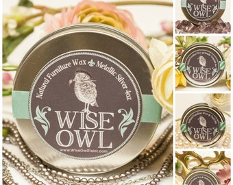 Wise Owl Furniture Wax (4oz and 8oz)