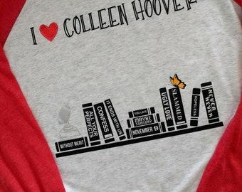 """Apparel // Shirt // """"I love"""" Author Name"""