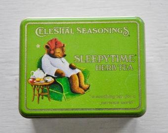 ON SALE Celestial Seasonings Sleepytime Herb Tea Tin