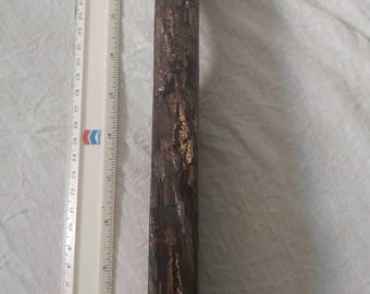 Walnut live edge tap handle