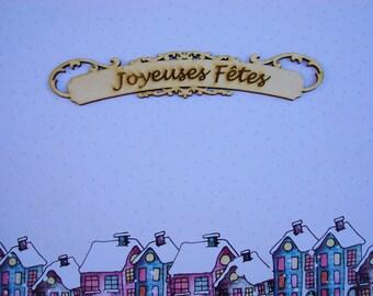 Merry Christmas 01570 label