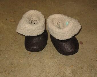 Slipper / boots faux fur 6 months