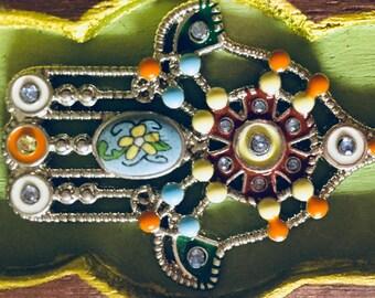 Hand of Hamsa Trinket Treasure Box