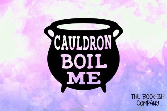 Cauldron boil me vinyl decaldp041