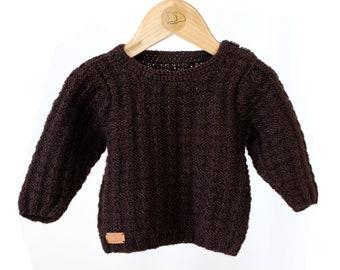 Baby boy Brown sweater