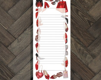 Wardrobe To-do notepad