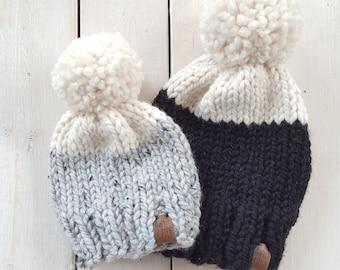 Knit Toque (Colour Block)