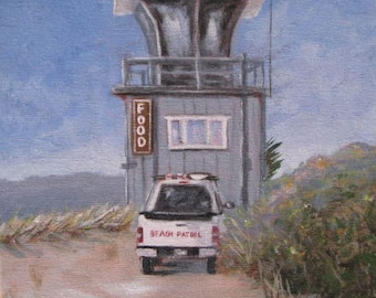Stinson Beach Lifeguard Tower