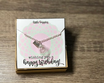 Happy Birthday! - Dandelion Necklace
