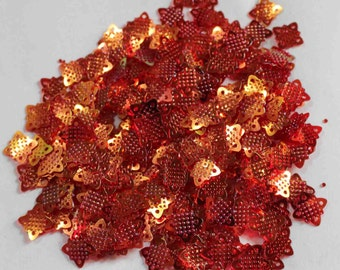 100 Orangish Copper Color /Square Shape Sequins /PSS630
