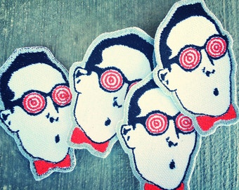 Pee-Wee Herman X-Ray Spex Iron-on Embroidered patch
